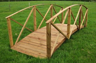 Bridge for Koi Pond