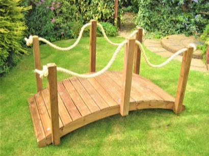 Garden Rope Bridge