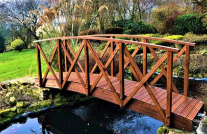 Koi Garden Bridge