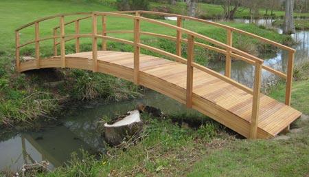 Large Garden Bridges