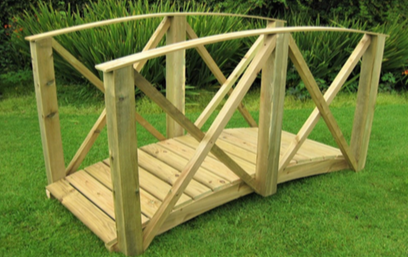 Koi Pond Bridge